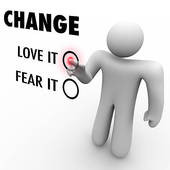 ... Fear Change - Do You Embrace Different Things - royalty free clip art