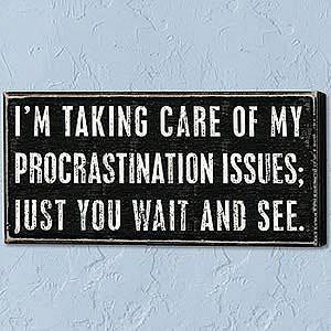 hamlet time essence procrastination