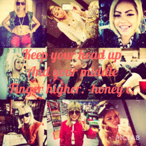 Honey Cocaine Middle Finger By