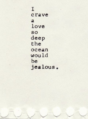 Deep Passion Of Love Quote