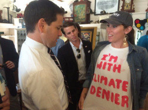 Meet the environmental activists photobombing GOP candidates one by ...