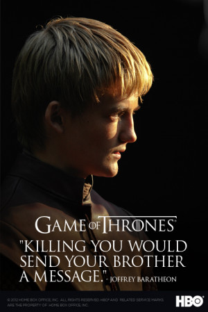 The Game of Thrones Twitter account posted these new season two quote ...