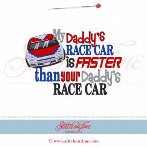Racing Sayings 5608 sayings : my daddy's race
