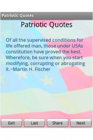 Patriotic Quotes - screenshot