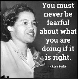 Rosa Parks Quotes About Freedom