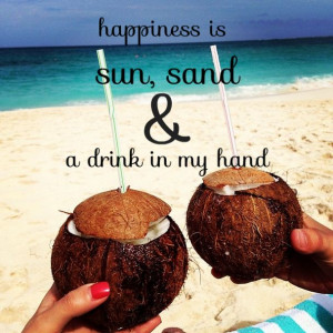 my hand. #beach #quotes Sun And Sands Quotes, Sands And Drinks Quotes ...
