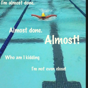 swimming sayings | Swim quotes