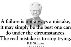 BF Skinner Quote