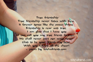 true friendship true friendship never fades with time it forever tunes ...