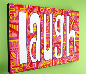 What is a gallery wrapped canvas? It is a high quality print on an ...