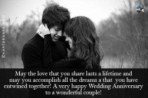 Go Back > Gallery For > Happy Anniversary Quotes For Couples