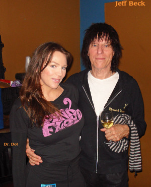 jeff beck wives
