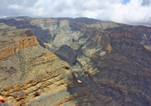 Oman's Grand Canyon – well worth the drive, although I don't ...
