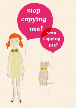 Fab You BIZ: How To Deal With Copycats