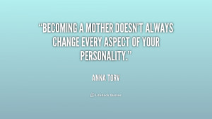 Becoming A Mother For The First Time Quotes