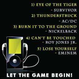 Pump Up Songs for Sports