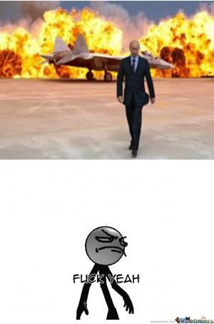 Putin Walking Away Like A Boss