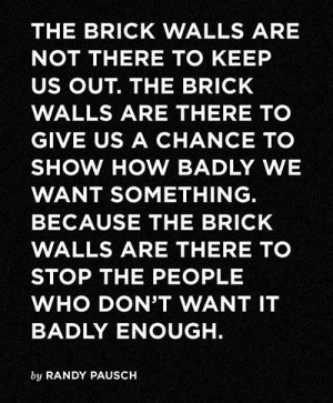 Randy Pausch Picture Quote