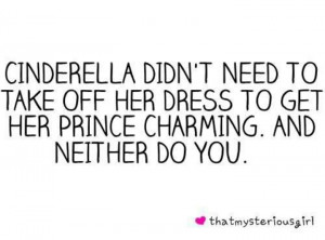 wish more girls would realize this