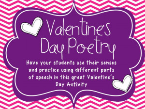 Valentines Day Poems for teachers