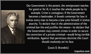 Quotes Against the Government
