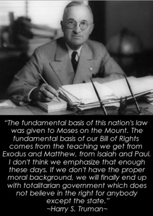 Harry Truman Quotes Harry truman quote