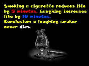 Cigarette Smoking Funny Sayings