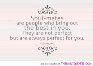 Soul Mate Love Quotes