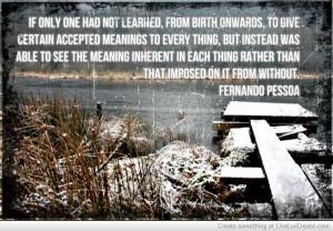 Another Fernando Pessoa Quote
