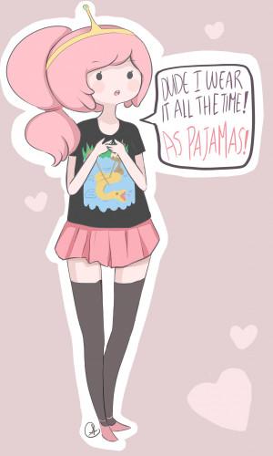 Adventure Time Marceline Princess Bubblegum doodles sugar-