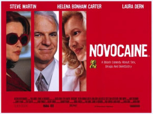 Novocaine: Steve Martin, Movie Impossible