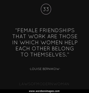 Women friendship ...