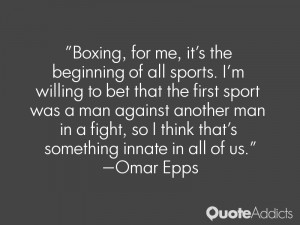 Omar Epps Quotes