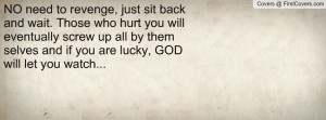 Related Pictures revenge quotes nice karma is the sweetest revenge