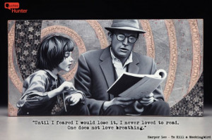 Harper Lee reading quote
