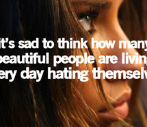 Beautiful Day People Quote Sad
