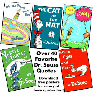 Educational Quotes Dr Seuss Dr. seuss quotes and free