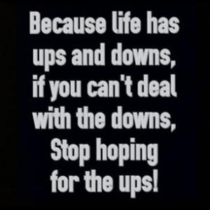 Instagram photo by inspirator_freak - Becausw life has ups and downs ...
