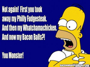 Best Homer Simpson Quotes About Bacon