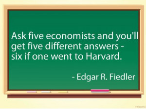 ... answers - 6 if one went to Harvard. - Edgar R. Fiedler #quotes