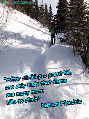 Inspirational Quotes: Hills to Climb