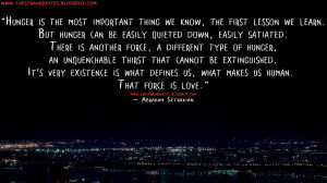 ... human. That force is love. Abraham Setrakian Quotes, The Strain Quotes