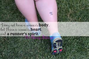 Runner Quote Tattoo Leg the runner's spirit?