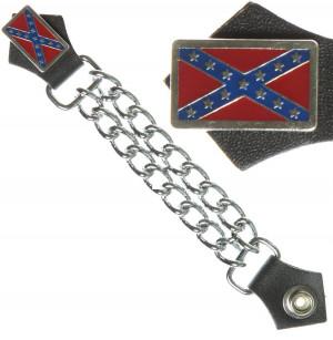 Rebel Flag Sayings Confederate flag vest extender