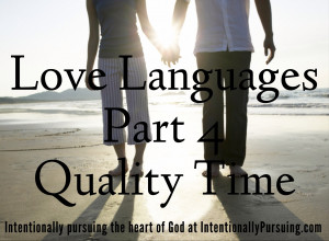 quality time love language love language quality time