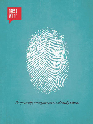 The graphic of fingerprint is a unique identity and its emphasis to be ...