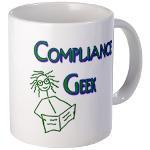 Compliance Geek Right handed Mug