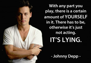 Johnny Depp #acting #actors #quotes #moviesActing Quotes Actor, Johnny ...