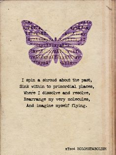 From black holes to DNA to butterfly metamorphosis, bewitching verses ...
