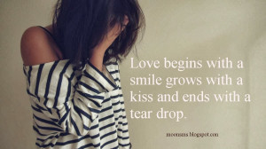 Broken heart sms text message quotes in English, crying sad girl ...